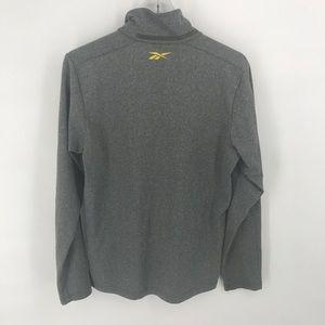 Reebok Jackets & Coats - Reebok grey play warm quarter-zip pullover